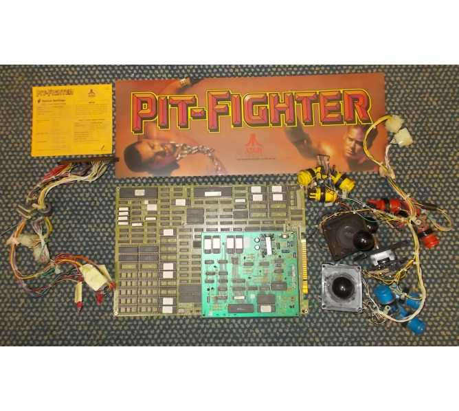 PIT FIGHTER Arcade Machine Game Kit by ATARI