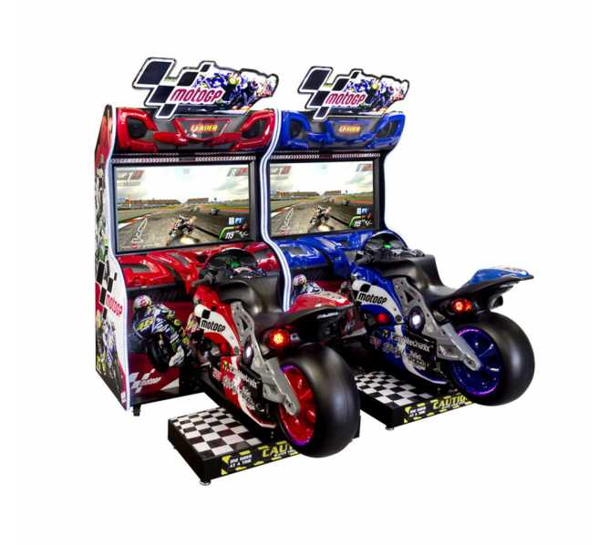 RAW THRILLS MOTOGP 42' DELUXE Sit-Down Arcade Machine Game for sale