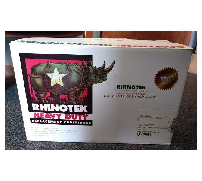 RHINOTEK IBM LASER PRINTER TONER CARTRIDGE #Q5200H - replaces #1382150 for sale