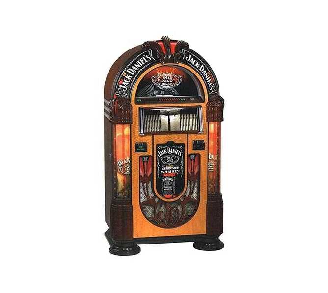 "ROCK-OLA JACK DANIELS Nostalgic Bubbler 19"" Touchscreen Jukebox Music Center for sale"