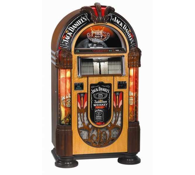 ROCK-OLA JACK DANIELS Nostalgic CD Bubbler Jukebox for sale