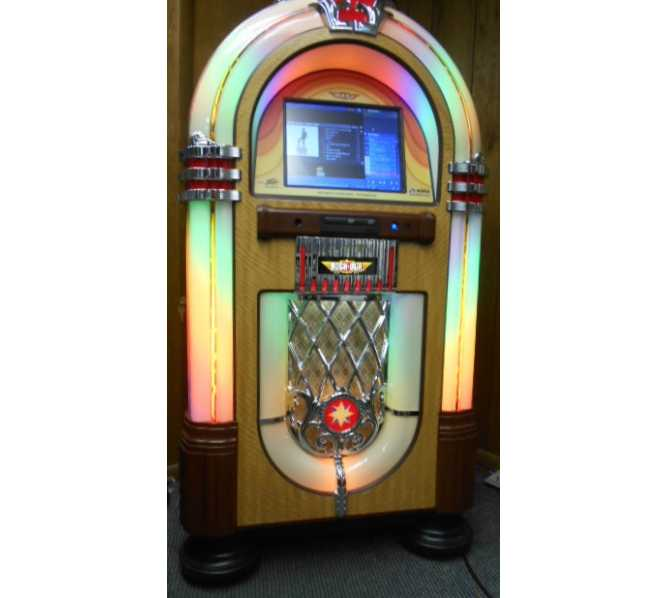 ROCK-OLA Nostalgic Bubbler CD Compact Disc Jukebox for sale