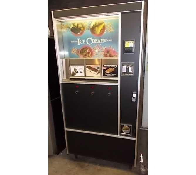 ROWE 487 ICE CREAM / FROZEN FOOD Vending Machine for sale