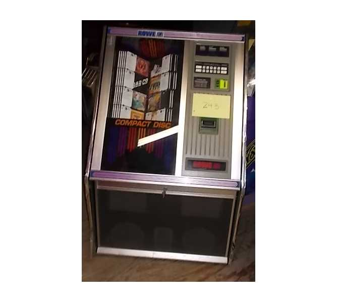 ROWE AMI CD Compact Disc Jukebox for sale #243