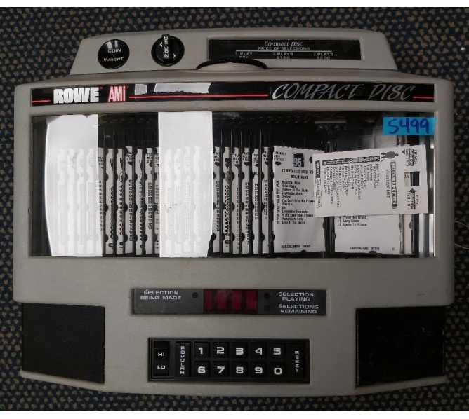 ROWE AMI COMPACT DISC WALLBOX Model CDWB for sale #5499