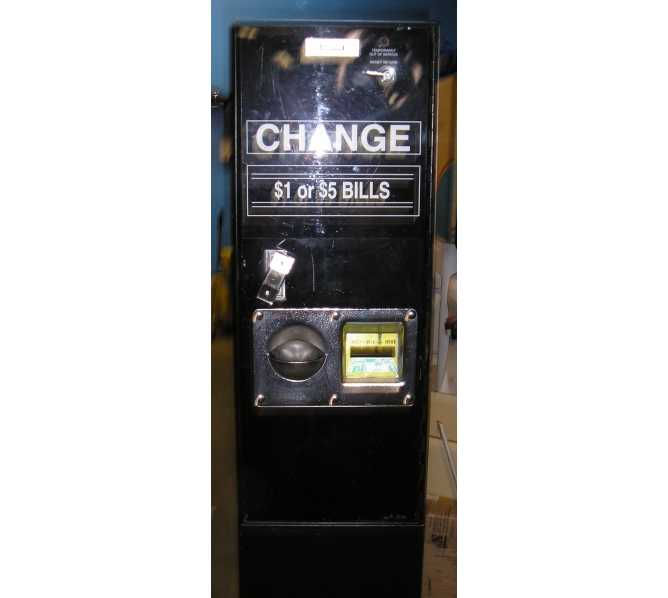 ROWE BC-11 DOLLAR BILL CHANGER HEAVY DUTY COMMERCIAL - $1's/$5's/$10's/$20's