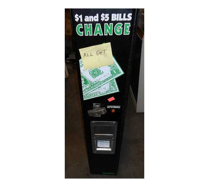 ROWE BC-1100 Dollar Bill Changer Heavy Duty Commercial - $1's/$5's/Tokens/Quarters/Bills/Coins - CALL FOR FREIGHT QUOTE
