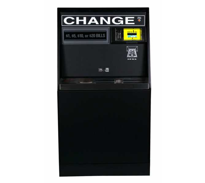 ROWE BC-35 $ BILL CHANGER HEAVY DUTY-FLOOR MODEL-3 HOPPERS-$1s/$5s/$10s/$20s
