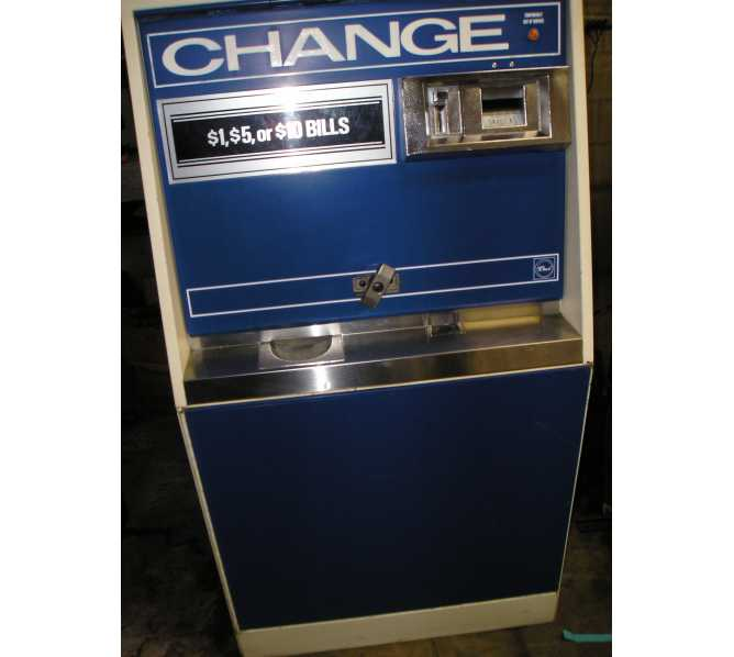 ROWE BC-3500 $ BILL CHANGER HEAVY DUTY-$1s/5s/10s/$20s Dispenses qtrs/tkns/etc.