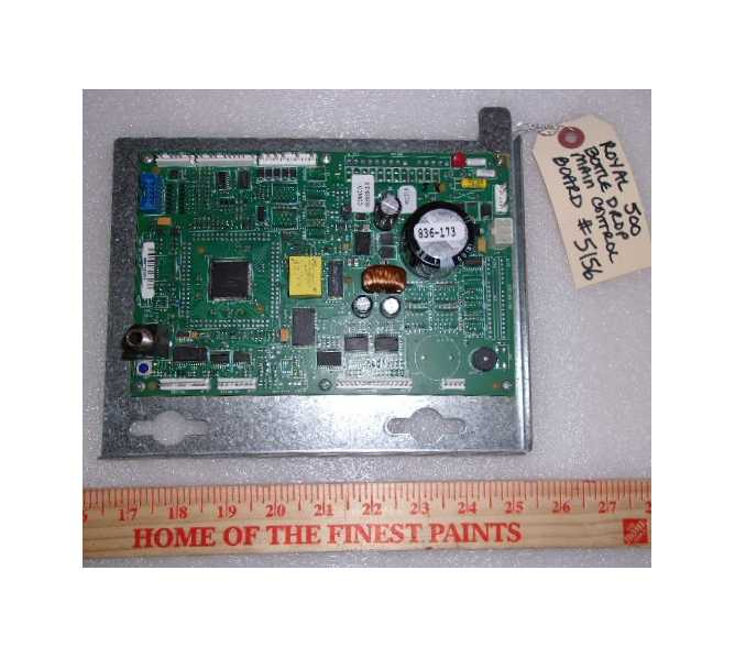 ROYAL 500 BOTTLE DROP Vending Machine PCB Printed Circuit MAIN CONTROL Board #5156 for sale