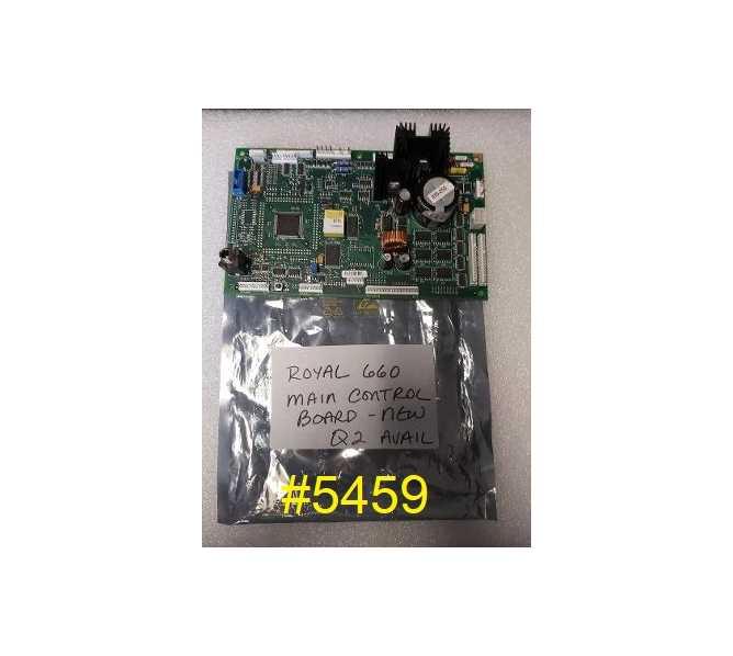 ROYAL 660 SODA Vending Machine PCB Printed Circuit CONTROL Board #5459 for sale - NOS