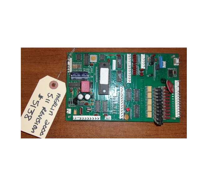 ROYAL VENDORS SODA 376 552 MERLIN 2000 5.11 REVISION PCB board #5138 for sale