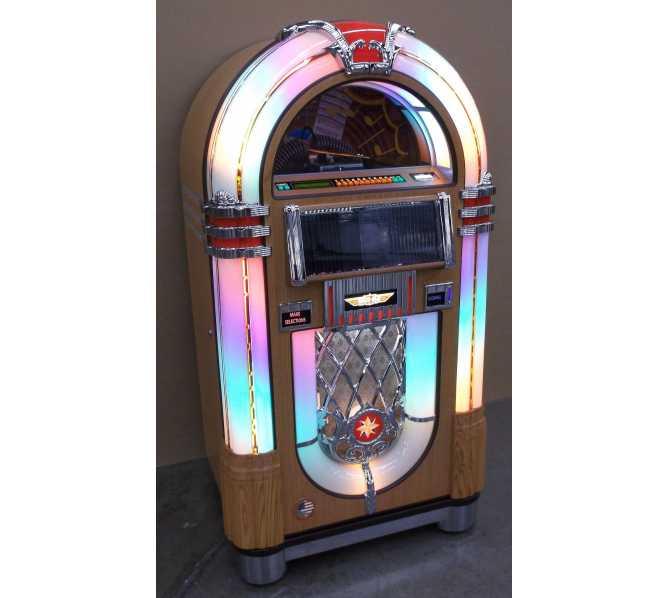 ROCK-OLA Nostalgic CD Bubbler Jukebox for sale - OAK FINISH