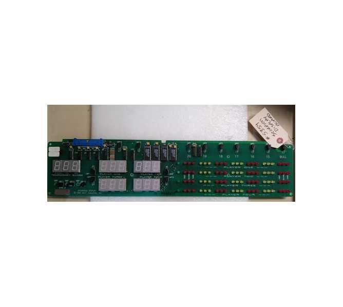 SCORPION Dart Arcade Machine Game PCB Printed Circuit DISPLAY Board #5359 for sale
