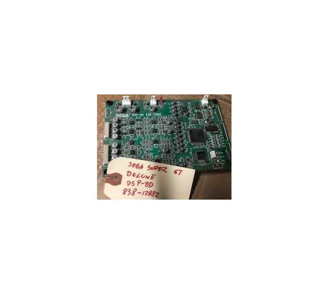 SEGA SUPER GT DELUXE Arcade Machine Game PCB Printed Circuit DSP-BD #838-12882 Board #0040 for sale