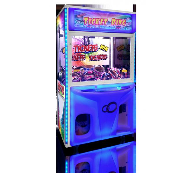 SMART INDUSTRIES TICKET RING Redemption Arcade Machine Game for sale