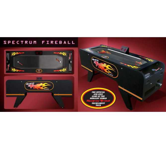 SPECTRUM FIREBALL COIN-OP MECHANICAL ARCADE BALL Machine Game for sale by MEDALIST