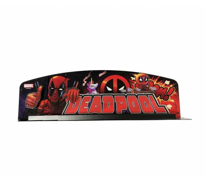 STERN DEADPOOL Pinball Machine Game CUSTOMIZED TOPPER #502-7080-00 for sale