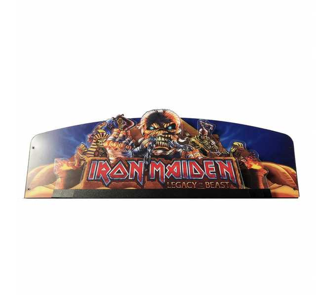 Clone of STERN IRON MAIDEN EGYPT Pinball Machine Game CUSTOMIZED TOPPER #502-7066-00 for sale