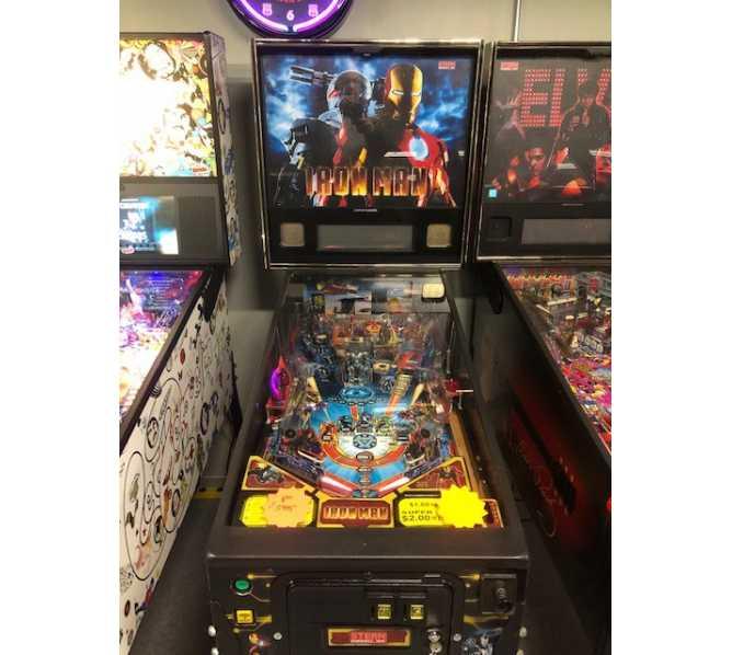 STERN IRON MAN PRO VAULT Edition Pinball Game Machine for sale