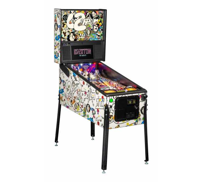 STERN LED ZEPPELIN PRO Pinball Game Machine for sale