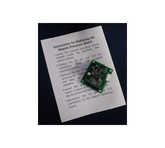 STERN Pinball Machine Game METALLICA LE PREMIUM Magnet processor board #520-6801-00 for sale