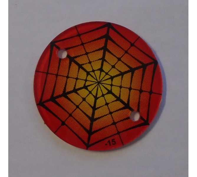 STERN SPIDER MAN Original Pinball Machine Promotional Key Fob Keychain Plastic #15