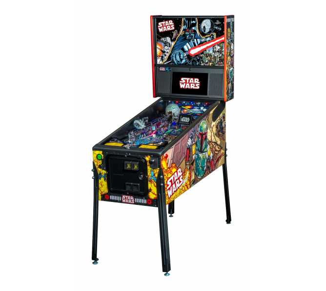 STERN STAR WARS COMIC ART PREMIUM Pinball Game Machine for sale