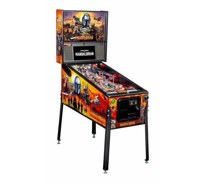STERN STAR WARS: THE MANDALORIAN PRO Pinball Machine Game for sale