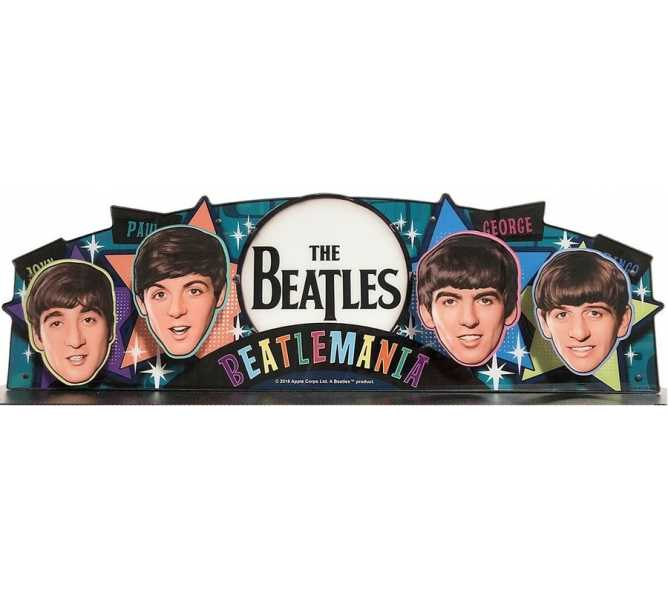 STERN THE BEATLES Pinball Machine Game TOPPER #502-7074-00 for sale