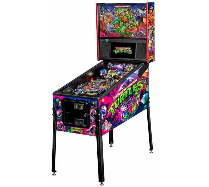 STERN TMNT Teenage Mutant Ninja Turtles PREMIUM Pinball Machine Game for sale