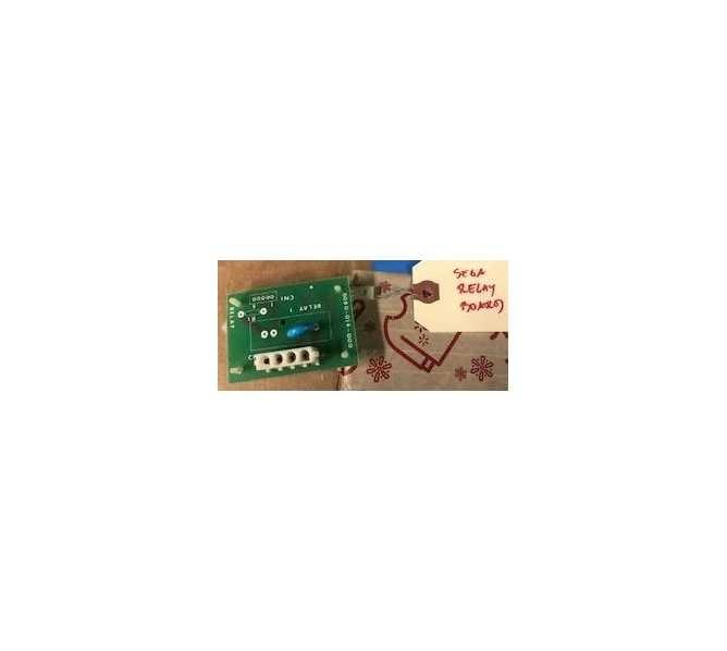 Sega Relay Arcade Machine Game PCB Printed Circuit Board #0045