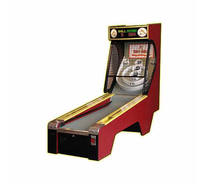 Skee Ball Classic Alley 10' Bowler Home Redemption Game
