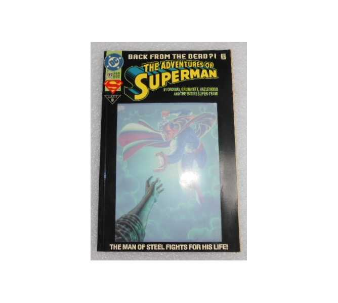 THE ADVENTURES OF SUPERMAN BACK FROM THE DEAD?! #500 COMIC BOOK for sale