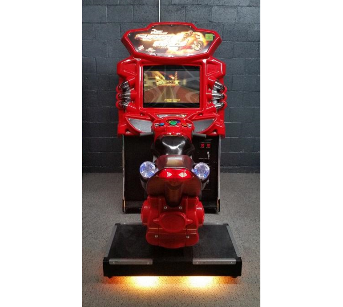THE FAST and THE FURIOUS: SUPER BIKES Arcade Machine Game for sale