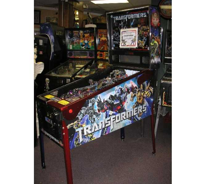 TRANSFORMERS PREMIUM AUTOBOT CRIMSON Pinball Machine Game for sale