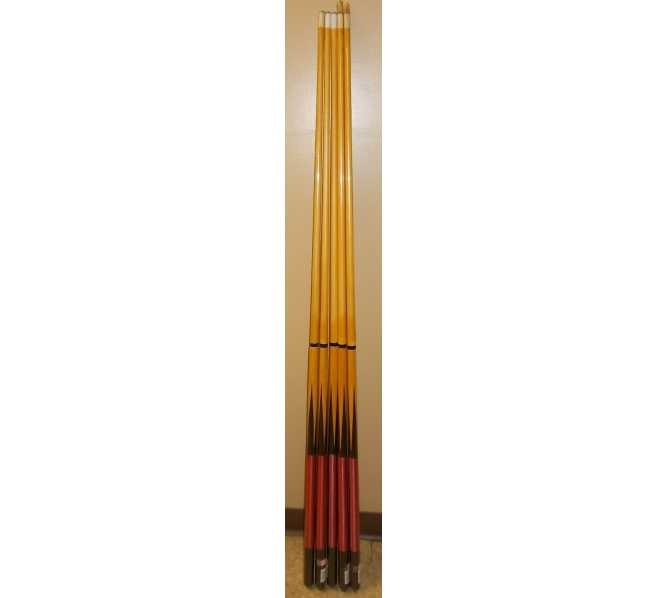 """Two Piece 57"""" Pool Cue Stick for sale #182 - Lot of 5"""
