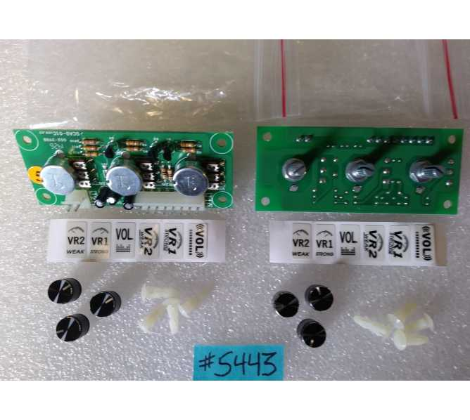 Universal Video Game or Crane Machine Game PCB Printed Circuit POTENTIOMETER & VOLUME CONTROL Boards #5443 for sale