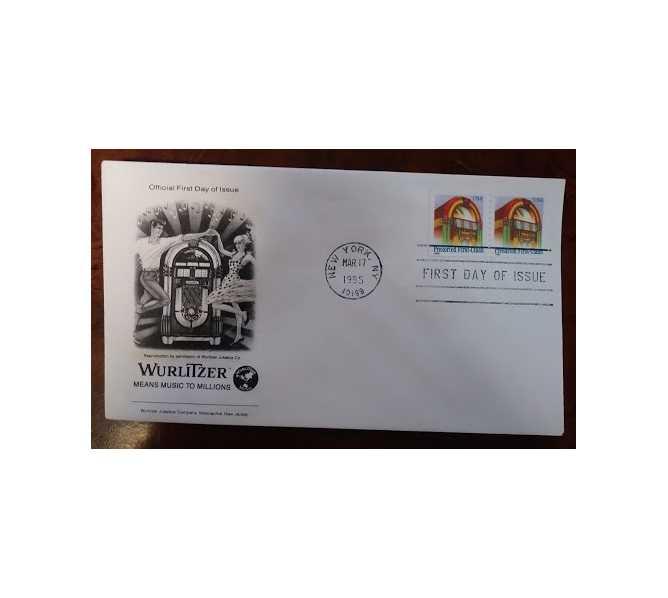 Wurlitzer – US original first day of issue – Wurlitzer 1015