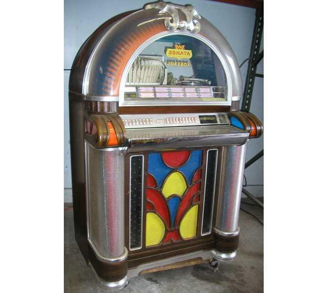 WURLITZER SONATA 1050 Jukebox for sale - PLAY'S 45's - COLLECTOR'S