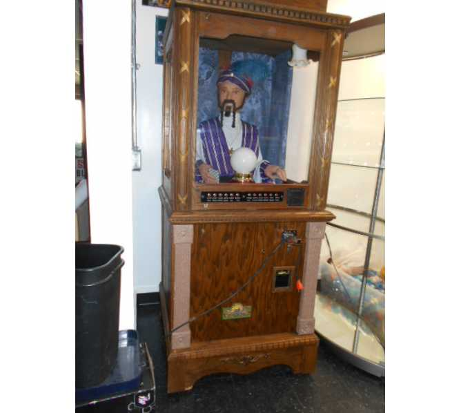 ZOLTAR FORTUNE TELLER Arcade Game Machine for sale with Zodiac Feature