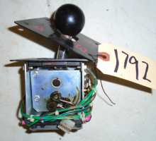 4 Speed Shifter Assembly for use with RUSH 2049 / CRUIS'N / MIDWAY DRIVERS Video Arcade Machine Game for sale #1792