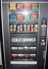 CRANE 474 Refreshment Center 2 COMBO Vending Machine for sale