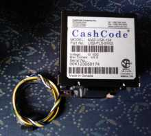 CRANE Cashcode AMZ-USA-154 12V Bill Validator Acceptor DBA (5392) for sale