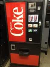 DIXIE NARCO DN 168-99-5, DN 168 Can SODA Cold Drink Vending Machine for sale