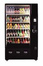 Dixie Narco  DN2145, 2145, BeverageMax Bottle Drop, Glass Front 45 SELECTION SODA COLD DRINK Vending Machine for sale