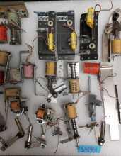 GOTTLIEB TEE'D OFF Pinball Machine Game COIL & FLIPPER LOT #5494 for sale