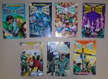 GREEN LANTERN GREEN ARROW COMIC BOOKS LOT - ISSUES #1 through #7 COMPLETE SERIES for sale - 1983 DC COMICS
