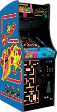 """MS. PACMAN/GALAGA 20th Anniversary 25"""" HOME USE Arcade Machine Game for sale - NEW"""