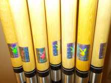 """Minnesota Fats Licensed Playmate Series """"Dalene Kurtis Two Piece 57"""" Pool Cue Stick for sale #196 - Lot of 2"""